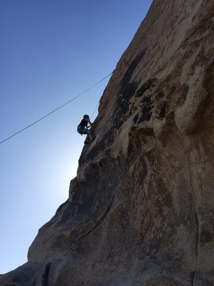 Joshua Tree Rock Climbing 11