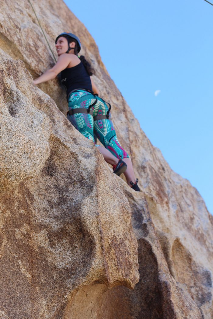 Joshua Tree Rock Climbing 6