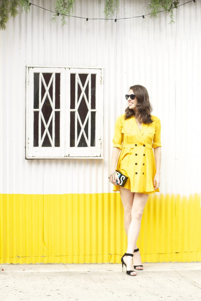 Sunny Yellow Dress